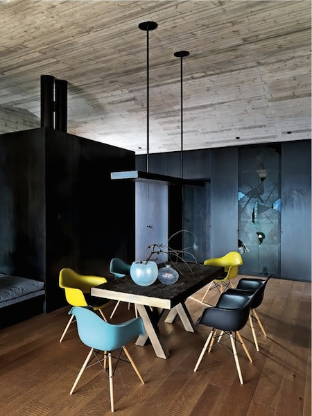 A Colorful Pop of Eames