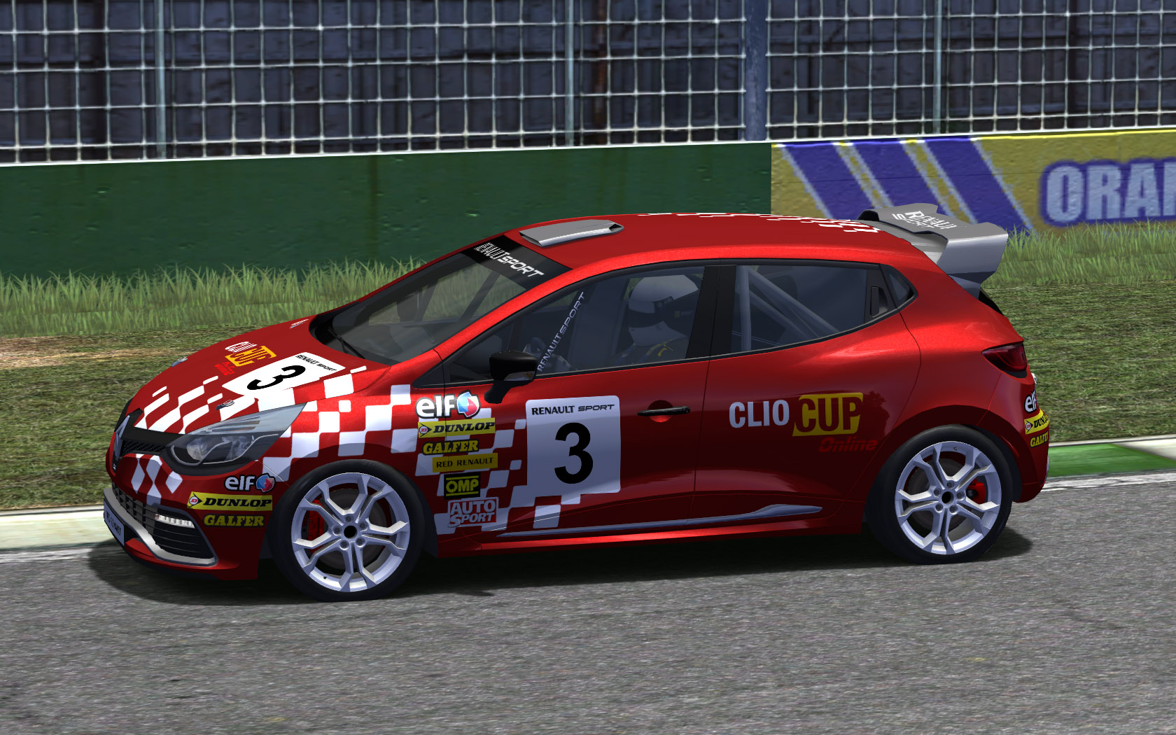 Clio Cup 2013 for rFactor - Presentation Video -