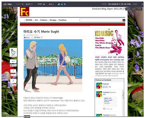 nerosunero @ funCast, Korea by nerosunero