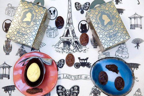 Happy Easter! A Duo of Ladurée Cameo (Camées, in French) Easter Eggs
