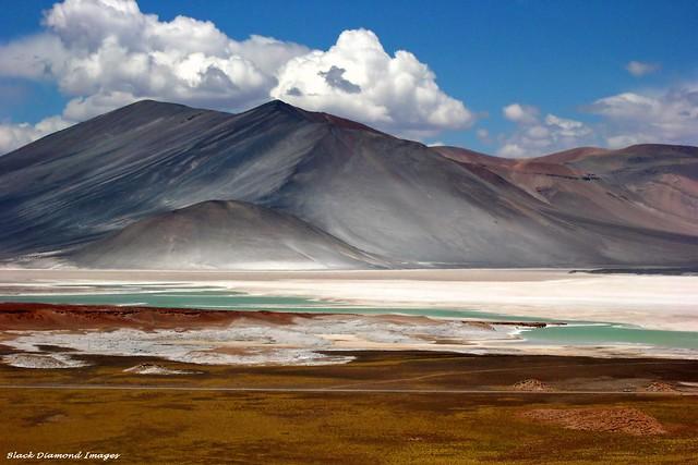 'Salar Serenity' - Salar de Agua Calientes and Cerro Medano, Antofagasta Region Altiplano, Northern Chile