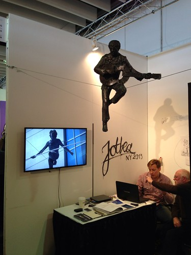 One of the booths @ ArtExpo New York 2013