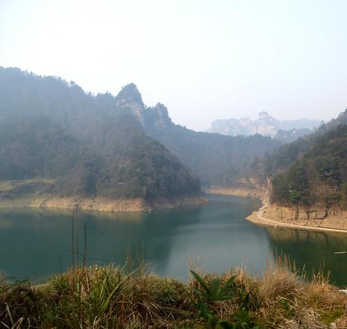 Hunan13-Parc-Telepherique-Vers Wulingyuan (25)