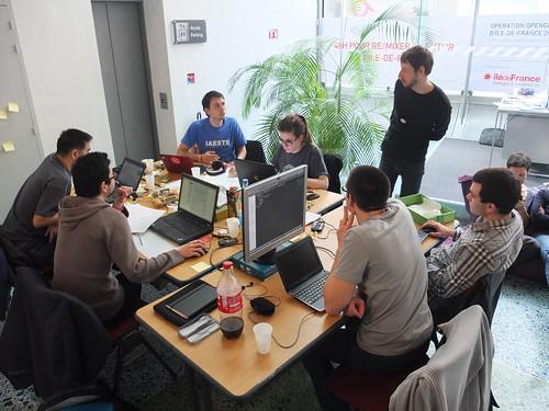 TransID : écomobilité & innovation...: Compte rendu du Hackathon Ile de France #hackidf2030