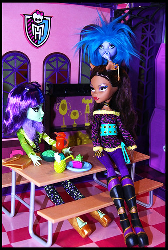 Overhead in the Lunchroom by DollsinDystopia