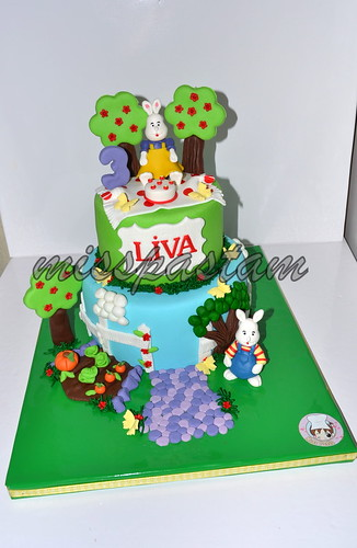 max and ruby cake by MİSSPASTAM