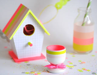 Easter table setting crafts