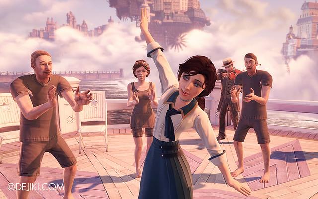 BioShock Infinite - Elizabeth Dancing