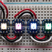 Breadboard-friendly RGB Smart NeoPixel - Pack of 4 by adafruit