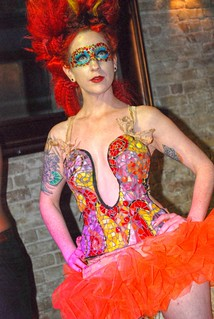 Austin Beauty Week at Speakeasy: orange-gal