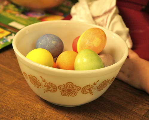 Easter eggs with Joe.
