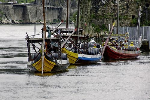 Rabelos boats by @uroraboreal