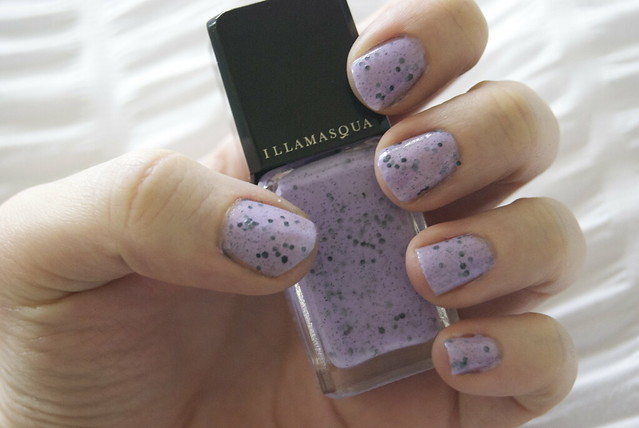 illamasqua speckle nail varnish