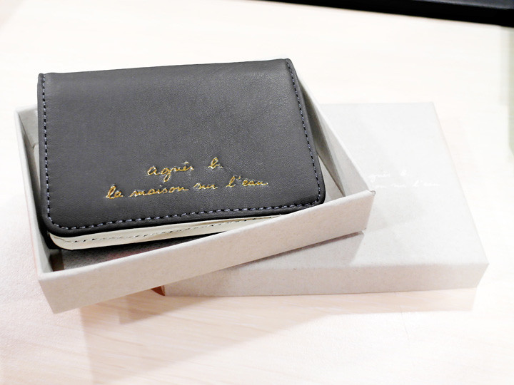 card holder agnès b
