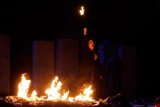 Liudmyla Monastyrska as Abigaille in Nabucco  © ROH / Catherine Ashmore 2013