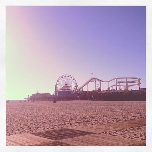 Santa Monica Beach 2012
