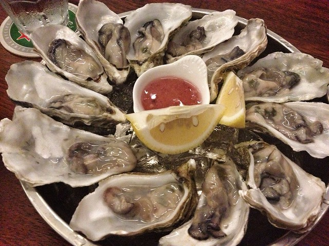 $1 Happy Hour Oysters, Tanuki Raw, Somerset