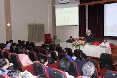 陽明山國家公園管理處3月27日舉辦研究調查成果發表會。(攝影:陳宏豪)