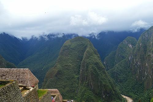 mountains green peru southamerica clouds andes machupicchu incas 2013