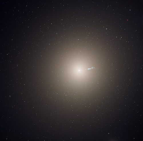 elliptical M87 galaxy