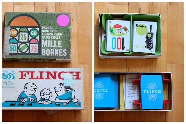 Vintage boardgames