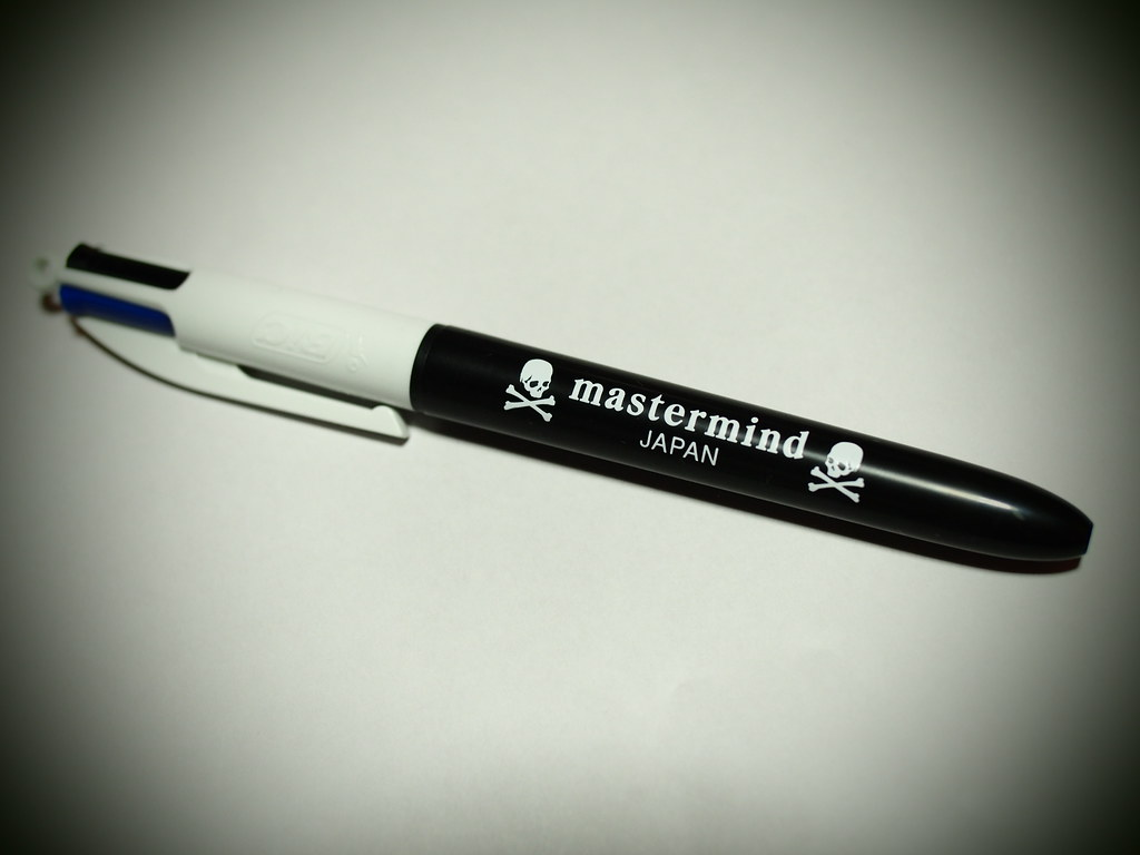 Bic × mastermind JAPAN | 3-Color Ballpoint Pen