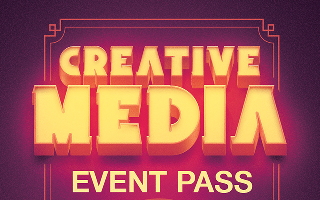 Creative media event pass template flickr photo sharing for Media press pass template