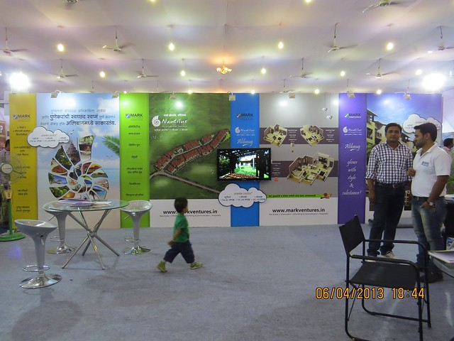 "Mark Ventures' ""Nautilus"", an integrated township at Alibaug - Maharashtra Times Pune Property Show April 2013"
