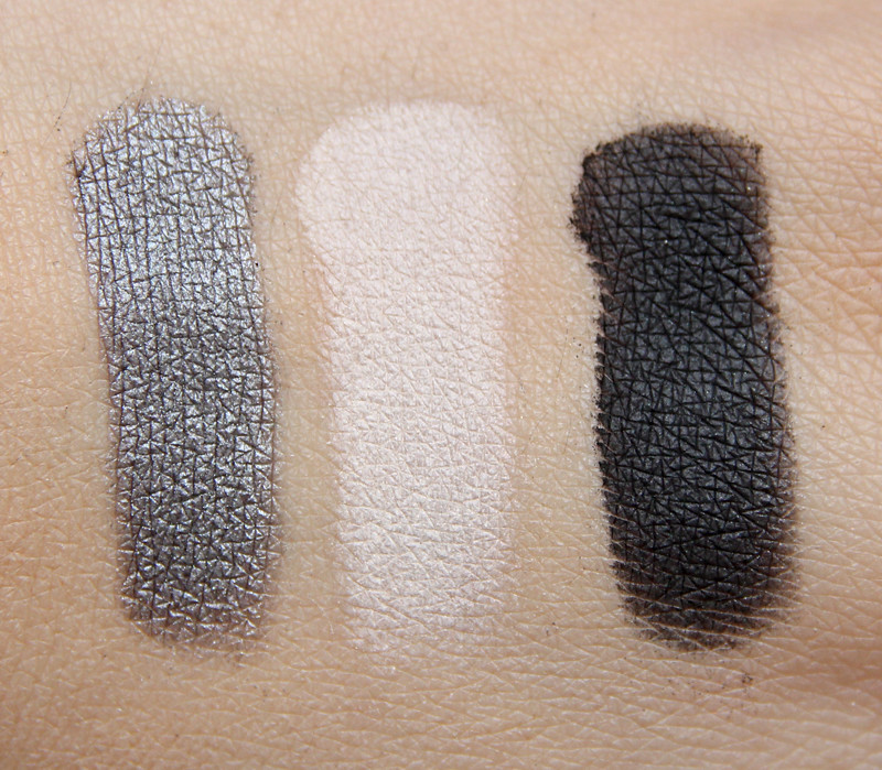 pürminerals Rock goddess perfect fit eye shadow trio swatch