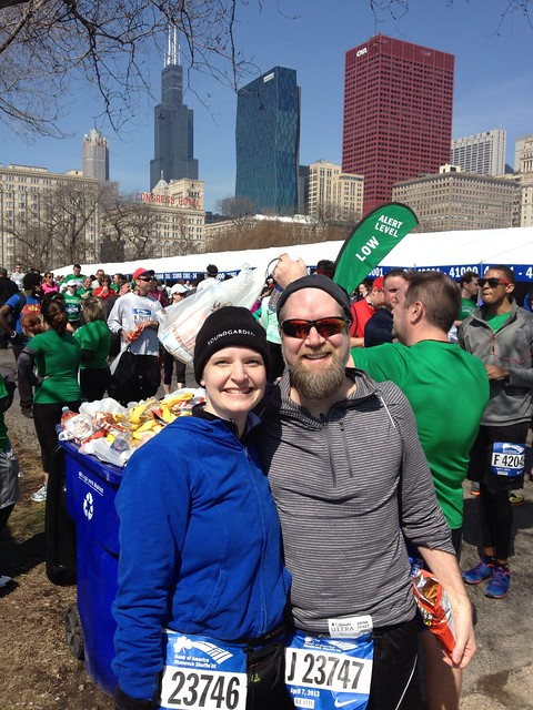 Team Gerdes at the Shamrock Shuffle