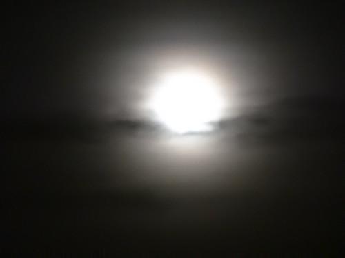 der Mond hat Angst vorm Ende der Werwölfe