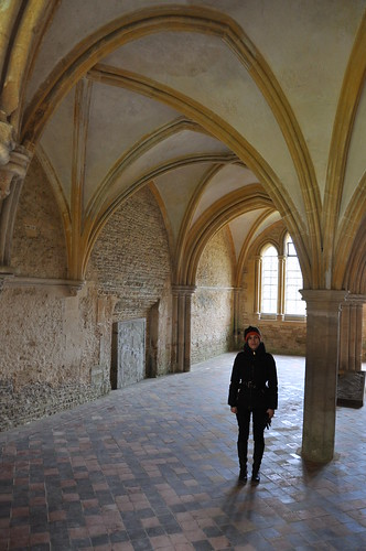 Chapter House at Lacock Abbey