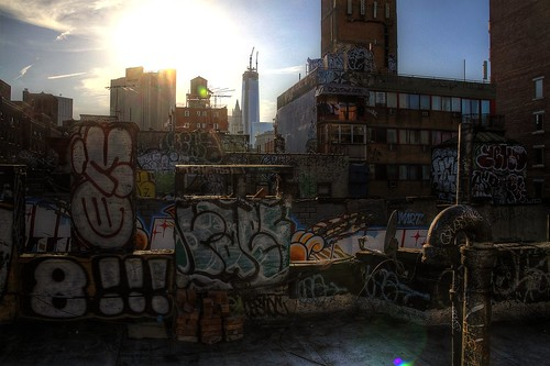 Graffiti Roof