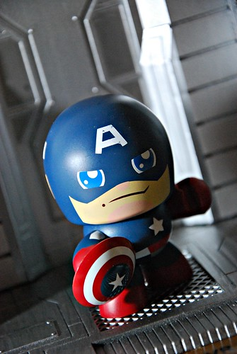 Mighty Muggs Captain America (Avengers movie)