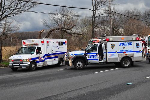 Richmond University Medical Center Ambulance and NYPD ESU REP ESS 5