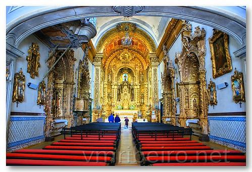 Interior da Igreja do Carmo, em Faro by VRfoto