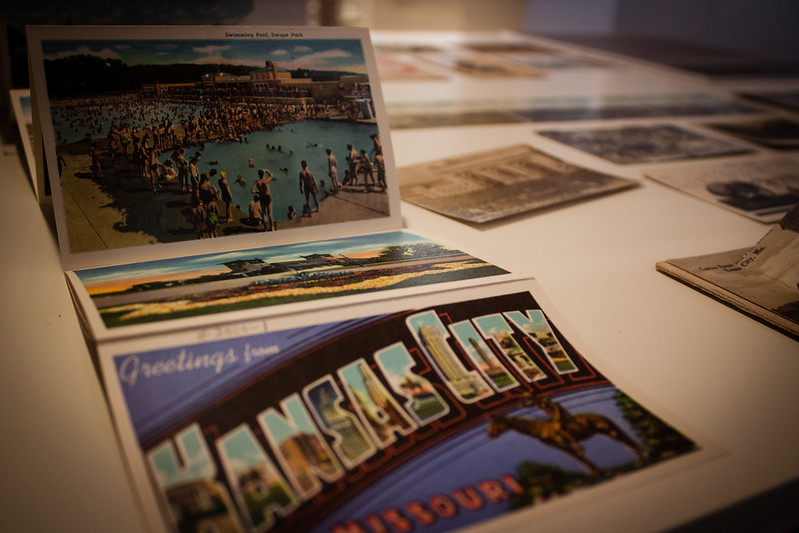 KCMO Library - Postcard Exhibit