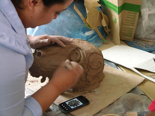 MayDay 2013 experienced mask maker