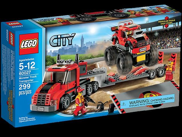 LEGO City 60027 - Monster Truck Transporter- BoxArt
