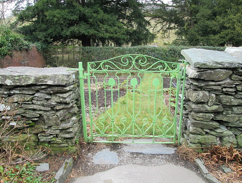 a garden gate Hill Top