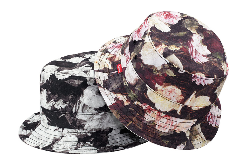 Print Inspiration Mood Board - Roses & Bandanas - supreme-2013-spring-summer-headwear-collection - Roses Bucket Hat