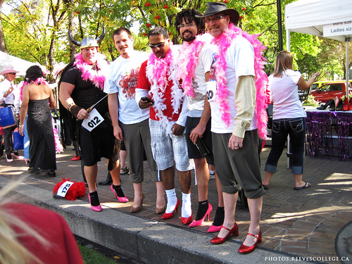 YWCA Walk a Mile in Her Shoes with Reeves College Calgary City Centre 018