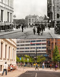 Gothenburg, Linnestaden 1901 / 2013