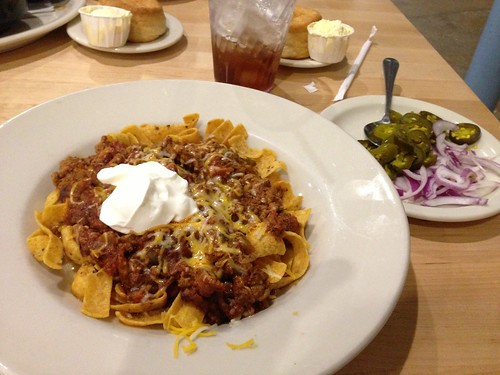 Bison Chili Frito Pie