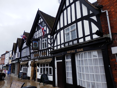 Tudor Buildings, Evesham,  Worcestershire