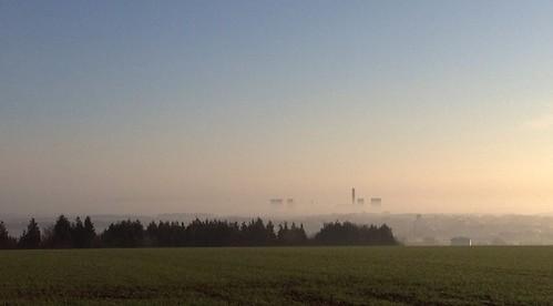 morning mist sunrise landscape oxfordshire easthendred uploaded:by=flickrmobile flickriosapp:filter=nofilter
