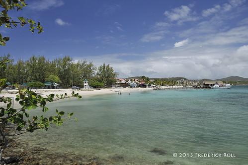 beach sandals caribbean stlucia pigeonisland westindies rodneybay nikkor18200mm fjroll