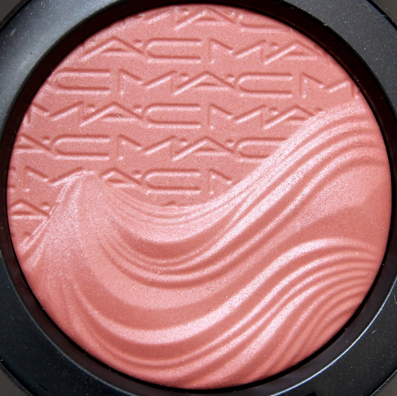 MAC Fiery impact extra dimension blush2