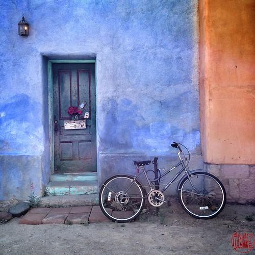 Bici en el Barrio Viejo, Tucson