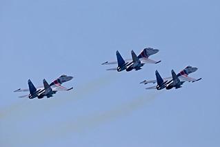 "Su-27 ""Russian Knights"""